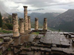 Das Orakel von Delphi ©Helen Mary McIntyre